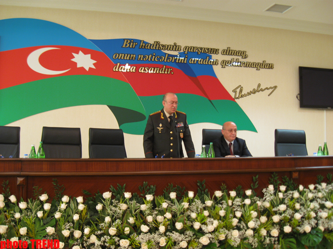 Ministry of Emergency Situations holds event dedicated to National Leader Heydar Aliyev's birthday (PHOTO)