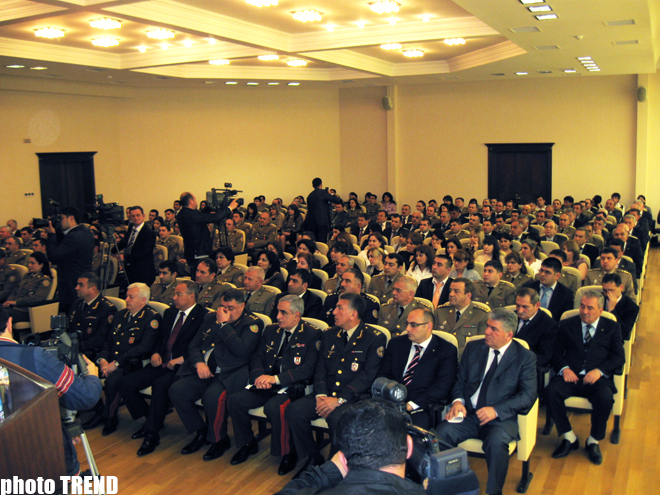 Ministry of Emergency Situations holds event dedicated to National Leader Heydar Aliyev's birthday (PHOTO) - Gallery Image