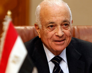 Official: Arab League chief's visit a show of support for Palestine