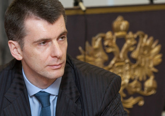 Mikhail Prokhorov, the first of the candidates voted in the presidential elections in Russia