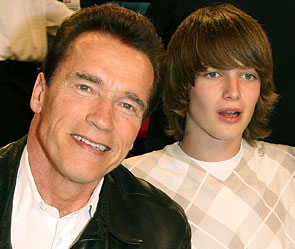 Schwarzenegger son in intensive care after surfing accident