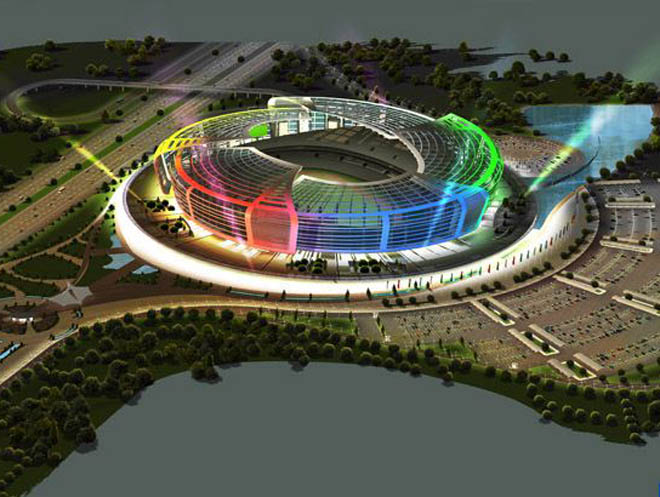 Foundation laying ceremony of 65,000-seat stadium to be held in Baku