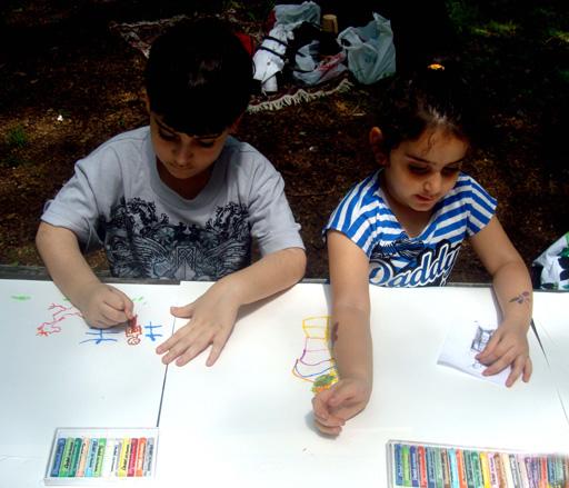 Подарок от детей азербайджанской диаспоры Нью-Йорка (фотосессия) - Gallery Image