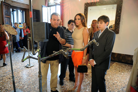 Mehriban Əliyeva Venesiya Biennalesində Azərbaycan pavilyonunun rəsmi açılış mərasimində iştirak edib (FOTO) - Gallery Image
