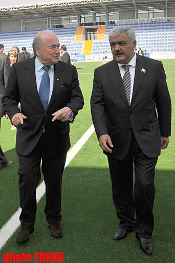 В Баку с участием президентов ФИФА и УЕФА открылся новый стадион (ФОТО) - Gallery Image