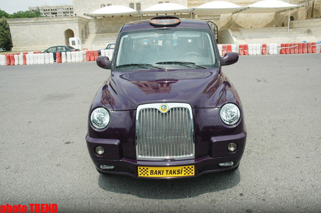 New taxis delivered to Baku meet Euro-4 standards