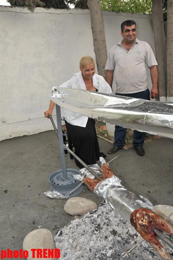 """Xalq artisti Aygün Kazımova Namibiyada qazandığı dostları ilə birgə """"tozanaq qopardı"""" (FOTO) - Gallery Image"""