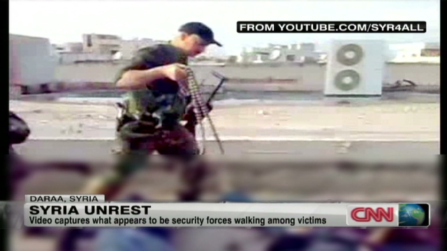 Activists says mass arrests carried out in Syria