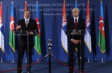 Президент Ильхам Алиев: Отношения между Азербайджаном и Сербией очень позитивно влияют на усиление тенденций регионального сотрудничества (ФОТО) - Gallery Thumbnail
