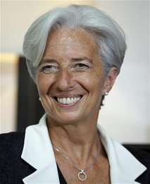 Christine Lagarde named first woman to head IMF (UPDATE 2)