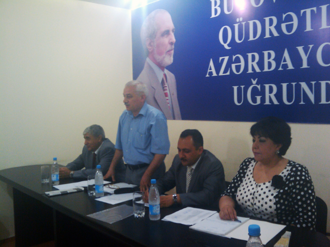 Chairman of Azerbaijani opposition party's supreme assembly resigns (PHOTO)