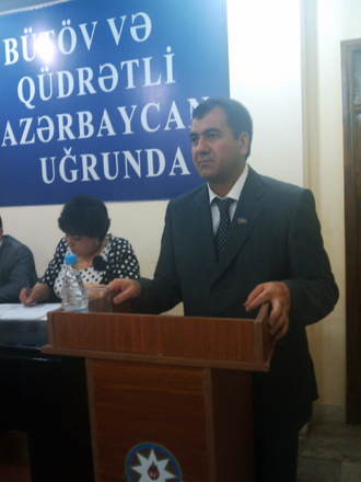 Chairman of Azerbaijani opposition party's supreme assembly resigns (PHOTO) - Gallery Image