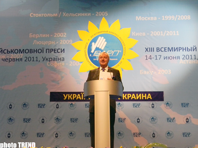 Trend News Agency attends XIII World Congress of Russian Press (PHOTO) - Gallery Image