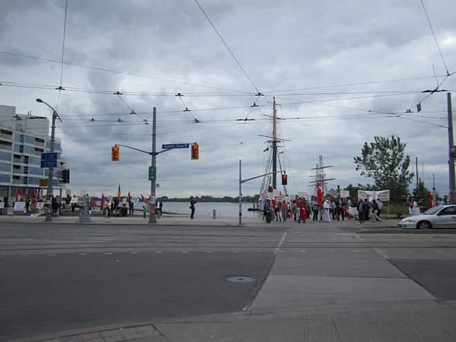 Torontoda ermənilərin antitürk aksiyası tam iflasa uğrayıb (FOTO, VİDEO) - Gallery Image