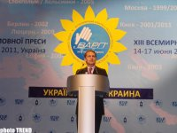 Trend News Agency attends XIII World Congress of Russian Press (PHOTO) - Gallery Thumbnail