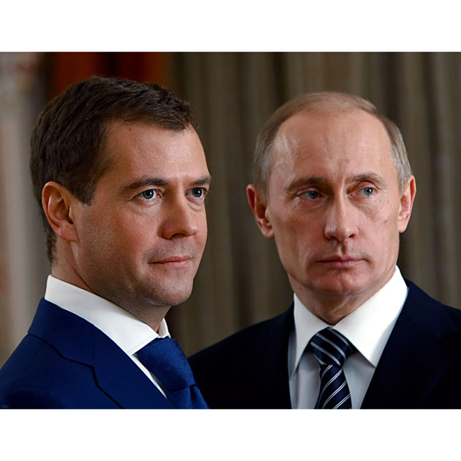 Putin appoints Medvedev as Russian PM
