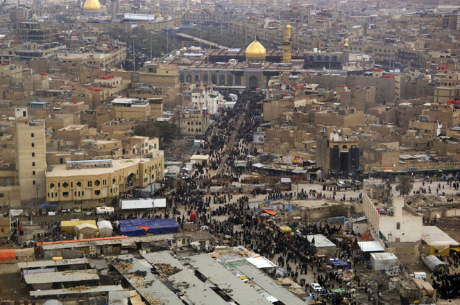 Iraqi Karbala Province's administration calls for simplification of pilgrims' entry into country