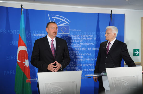 Azerbaijani President: Azerbaijan seeks to align its policy with EU countries' policy as much as possible - Gallery Image