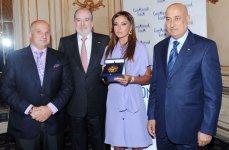 Azerbaijan`s first lady receives Crans Montana Forum`s Gold Medal (PHOTO) - Gallery Thumbnail