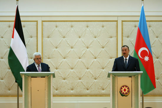 President Aliyev: Good opportunities exist to develop Azerbaijan-Palestine relations (PHOTO) - Gallery Image