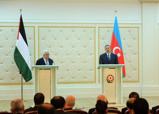 President Aliyev: Good opportunities exist to develop Azerbaijan-Palestine relations (PHOTO)