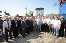 Azerbaijani President opens Darnagul station of Baku Metro (PHOTO) - Gallery Thumbnail