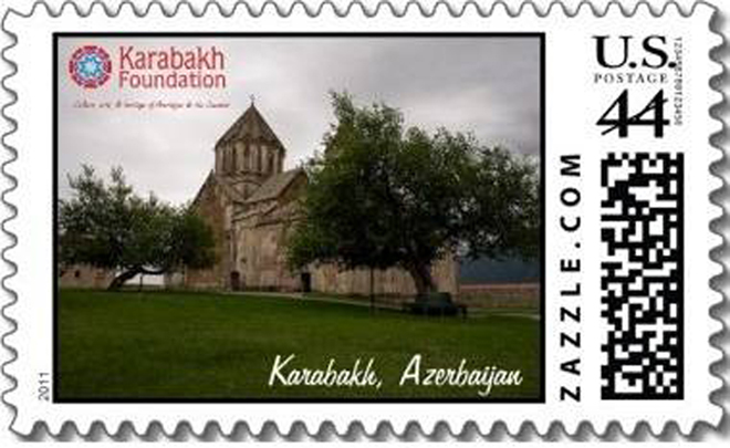 Stamps dedicated to Karabakh issued in USA (PHOTO)