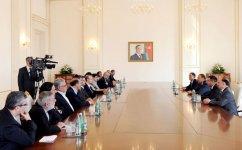 Azərbaycan Prezidenti İran İslam Şurası Məclisinin sədrini qəbul edib  (FOTO) - Gallery Thumbnail