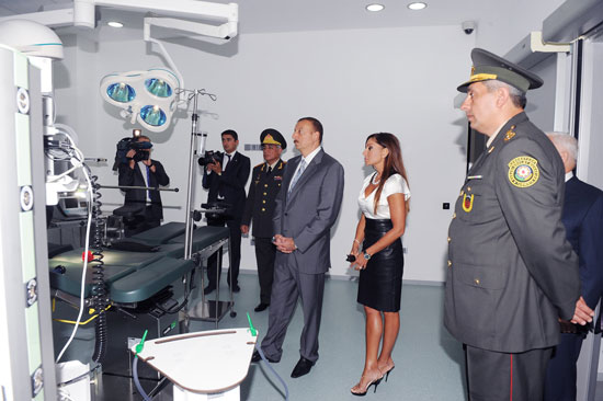 President Ilham Aliyev: Azerbaijan's citizens should be offered qualitative medical service (UPDATE) (PHOTO) - Gallery Image