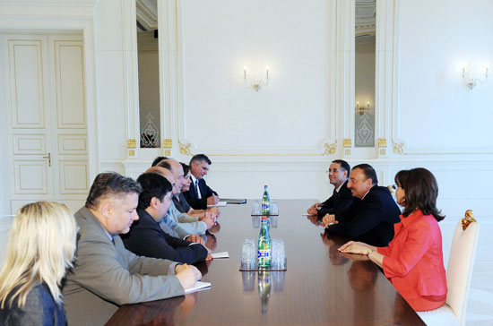 Azerbaijani President receives Lithuanian Prime Minister