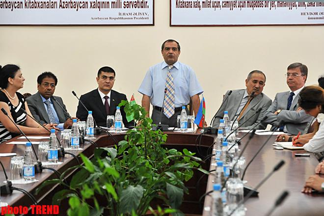 Turkmen literature sector opens in Azerbaijan (PHOTO) - Gallery Image