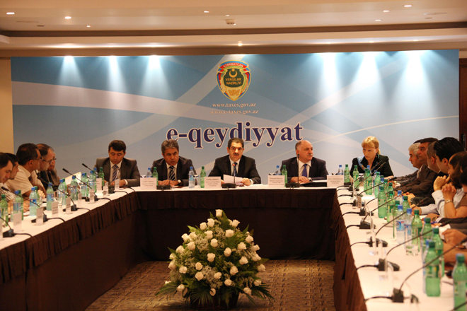 On-line-registration of legal entities to be introduced in Azerbaijan in 2012 (PHOTO)