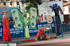 Красочный карнавал на ходулях в Турции глазами азербайджанца (фотосессия) - Gallery Thumbnail
