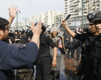 More than 200 injured in Cairo protests
