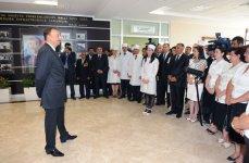 Azerbaijani President opens new Treatment and Diagnostics Center in Khizi (PHOTO) - Gallery Thumbnail