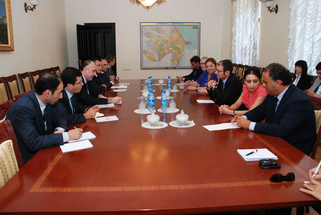 Azerbaijani FM receives PACE delegation (PHOTO) - Gallery Image
