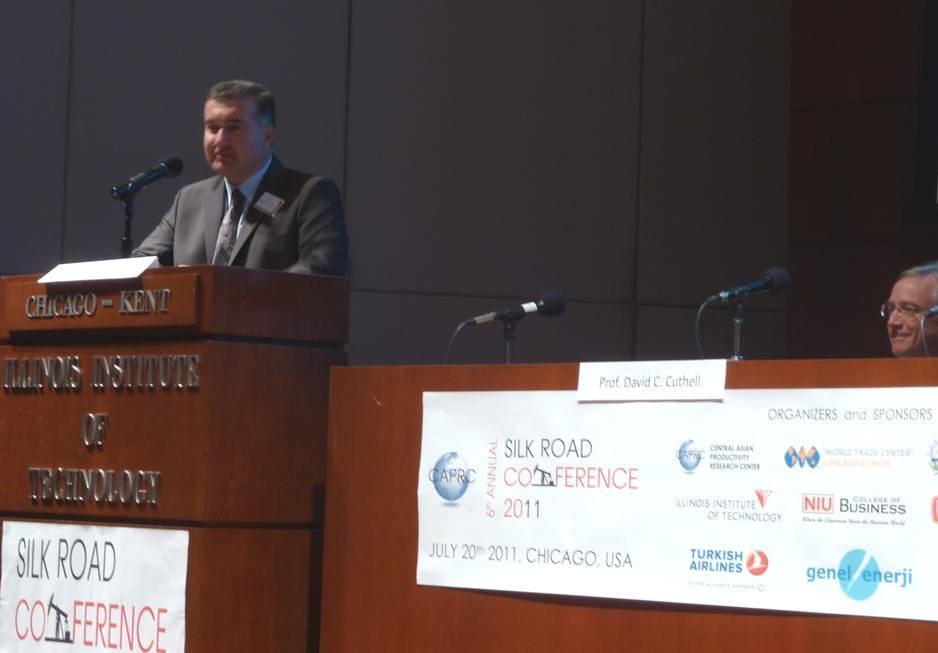 Azerbaijani diplomat attends conference in Chicago (PHOTO) - Gallery Image