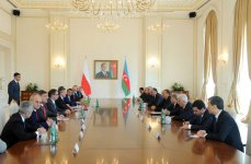 President Ilham Aliyev: New agreements between Azerbaijan and Poland to become new impetus for cooperation (PHOTO) - Gallery Thumbnail