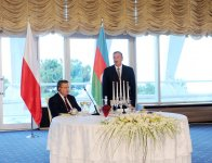 An official dinner hosted in honor of visiting Polish President (PHOTO) - Gallery Thumbnail