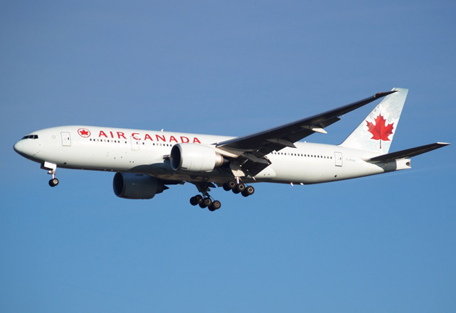 Smoke from oven causes Air Canada flight to turn back