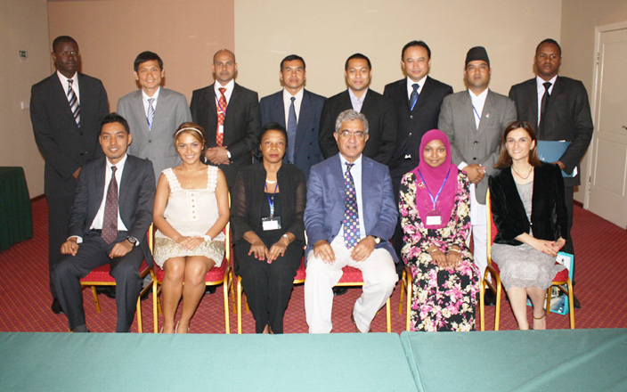 ADA finishes courses for Asian and African diplomats (PHOTO) - Gallery Image