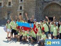 Азербайджанская и турецкая молодежь сразилась в пейнтбол (фотосессия) - Gallery Thumbnail