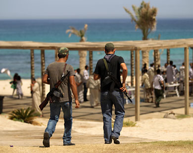 Libyan government gives ultimatum for fighters to hand over weapons