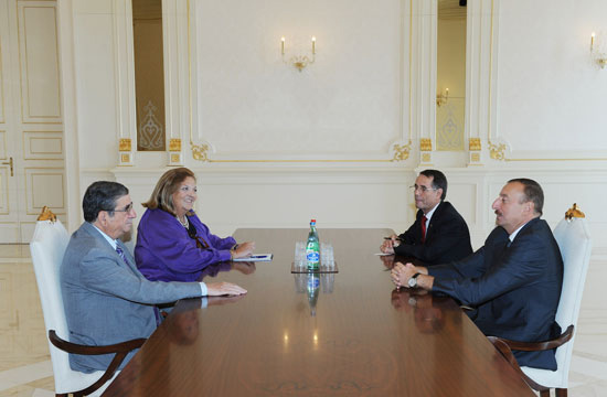 Azerbaijan's President meets PACE human rights committee chairman