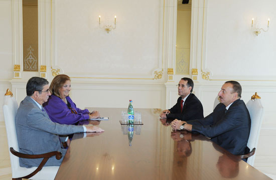 Azerbaijan's President meets PACE human rights committee chairman - Gallery Image
