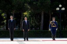 Monteneqro Prezidenti Filip Vuyanoviçin Bakıda rəsmi qarşılanma mərasimi keçirilib (FOTO) - Gallery Thumbnail