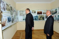 Azerbaijani president arrives in Khachmaz (PHOTO) - Gallery Thumbnail
