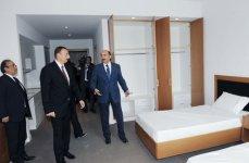 Azərbaycan Prezidenti Qusarda Şahdağ qış-yay turizm kompleksinin tikintisi ilə tanış olub (FOTO) - Gallery Thumbnail