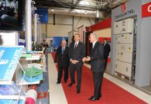 "Azerbaijani President attends ""Azerbaijan - 20 years of independence"" exhibition (PHOTO) - Gallery Thumbnail"
