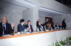 President of Azerbaijan and his spouse sees final bouts of world boxing championship in Baku (PHOTO) - Gallery Thumbnail